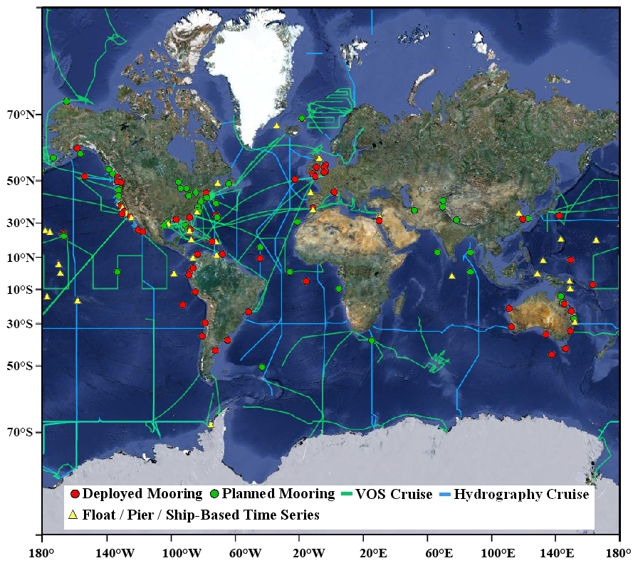 global map ocean acidification observing network july16 wlegend