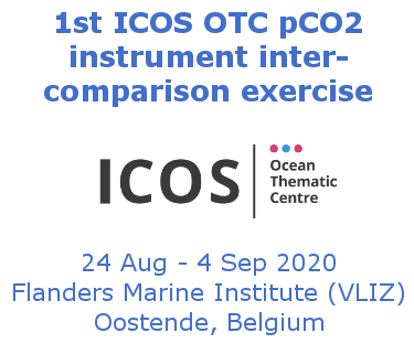 1st ICOS OTC pCO2 instrument inter-comparison