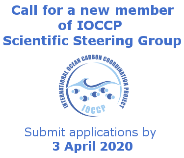 Call for a new IOCCP SSG member