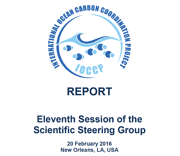 Eleventh Session of the IOCCP Scientific Steering Group report published