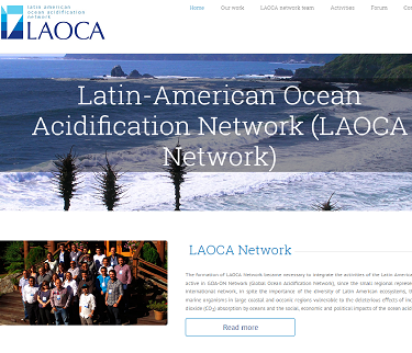 Latin American Ocean Acidification (LAOCA) Network - website launched and 1st Symposium announced