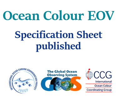 Ocean Colour EOV Specification Sheet published