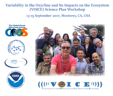 Variability in the Oxycline and its ImpaCts on the Ecosystem (VOICE) Science Plan Workshop report published